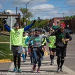 Defeat the Stigma Run Across Wisconsin Finish