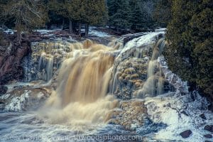 Gooseberry Winter Lower Falls