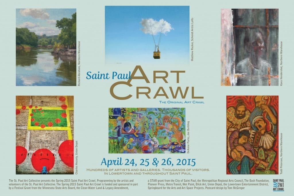 St. Paul Art Crawl 2015