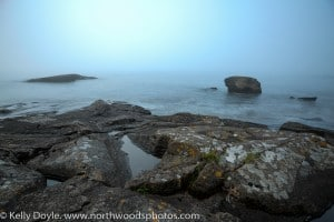 Cascade Beach Fog, Lake Superior