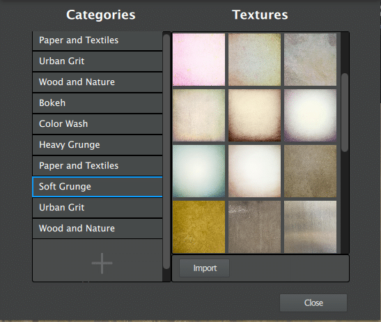 Topaz Texture Effects Texture Manager