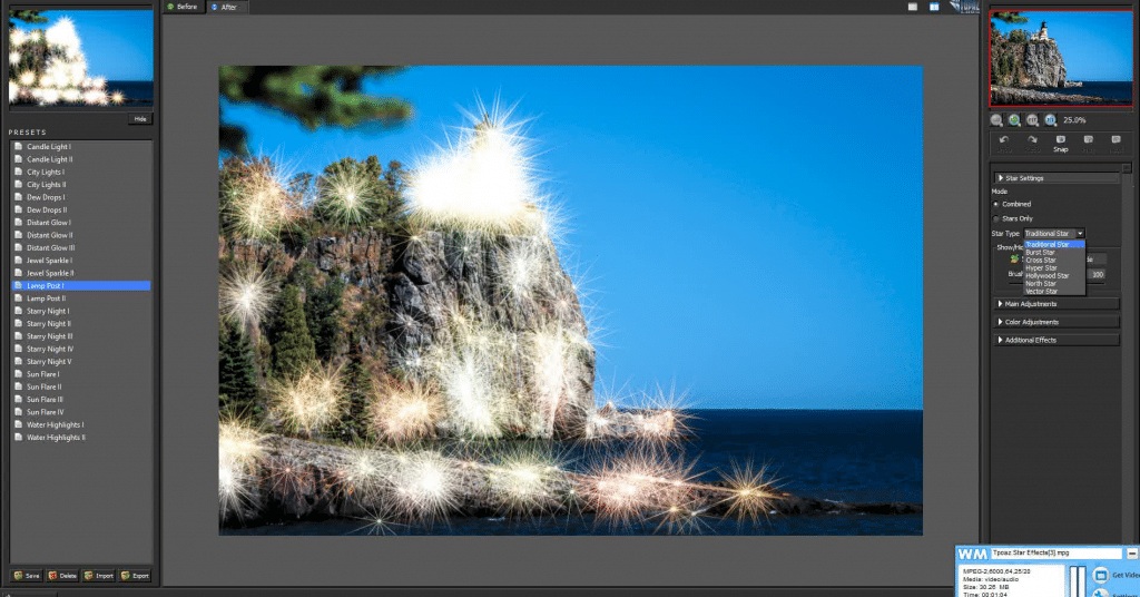 Topaz Labs Star Effects
