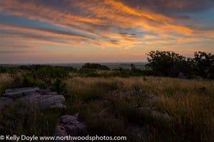 Pre-dawn Prairie Sky
