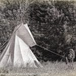 Antique Tepee