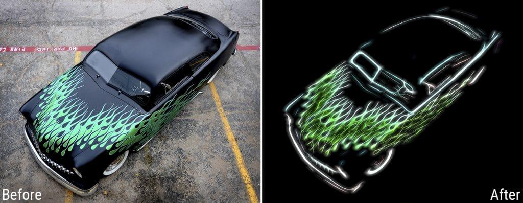 Topaz Labs Glow 2 Car