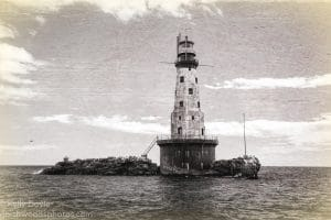 Rock of Ages Lighthouse Antique