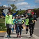 Defeat the Stigma Run Across Wisconsin Finish