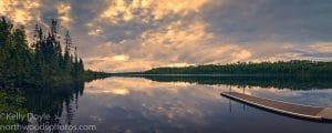 Aspen Lake Sunrise