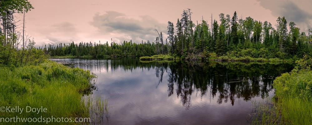 Iron Lake Panorama